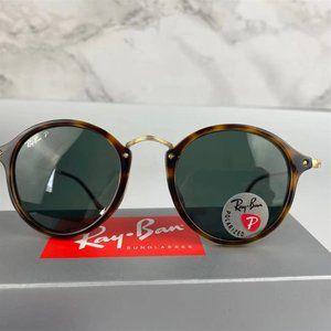 Ray-Ban Round Mottled Classic Series G-15 Brown/Tortoiseshell Frame Sunglasses